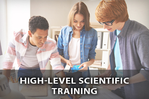 High-level scientific training