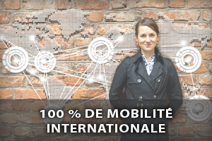 100 % de mobilité internationale
